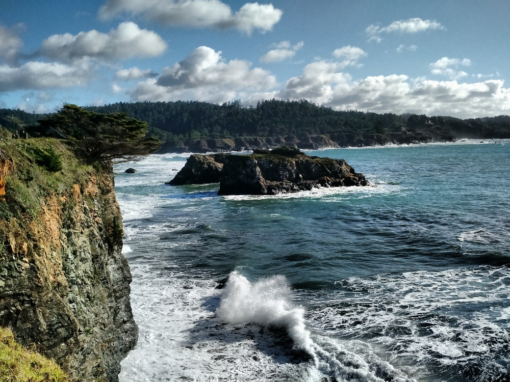 Views from Point Mendocino