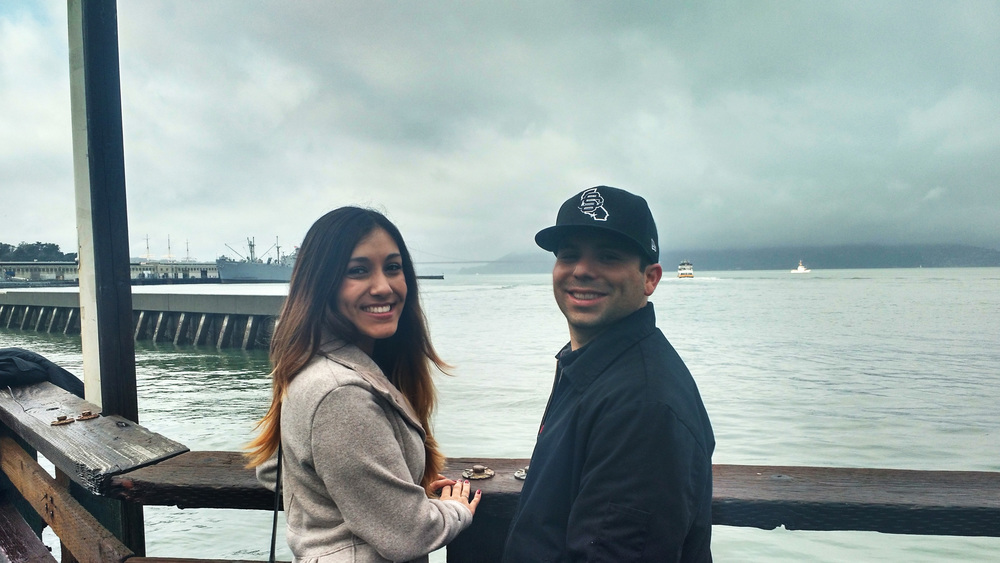 Maria + Anthony in SF!