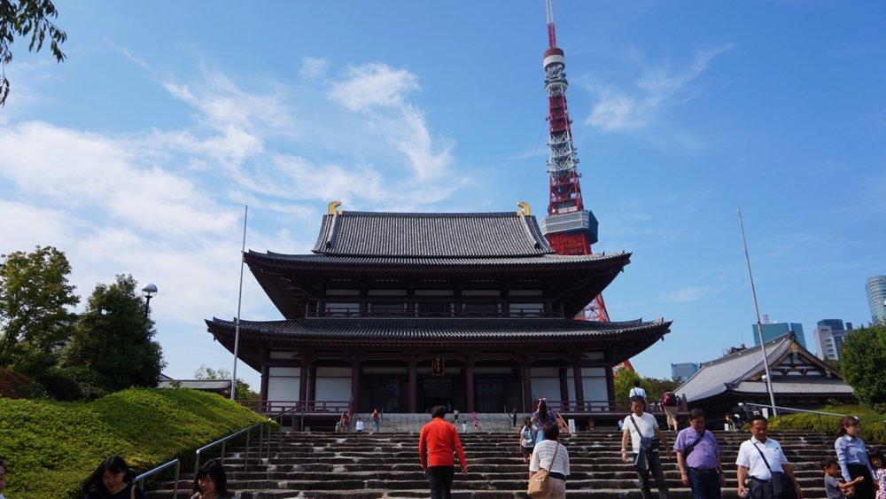 Zozoji Temple + Tokyo Tower
