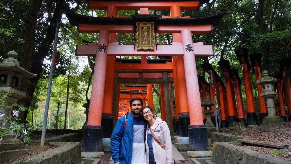 Post-Fushimi Inari, Pre-Yakatori
