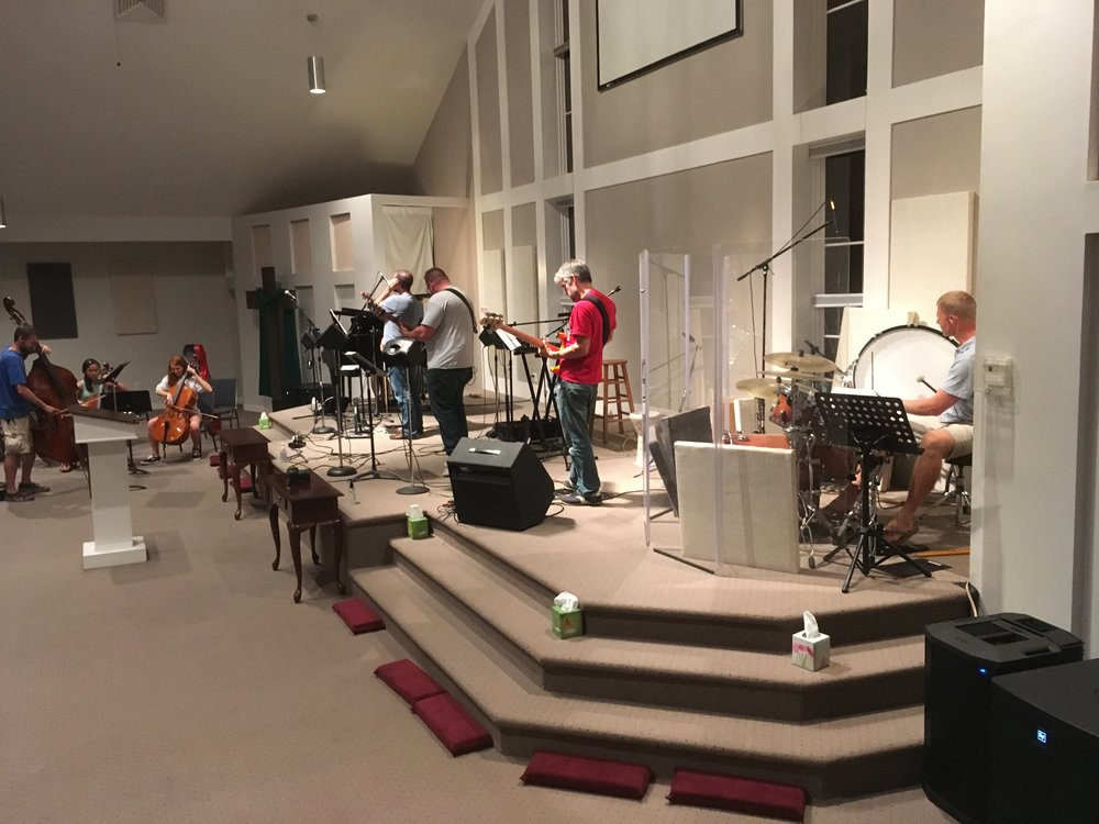 Band rehearsal!