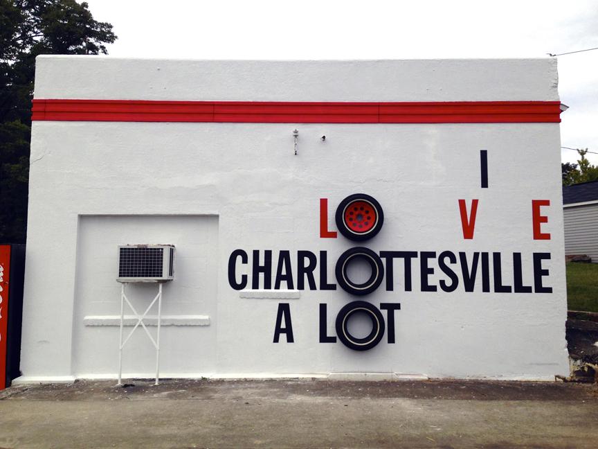Charlottesville Mural Project: artist, Richard Montoya