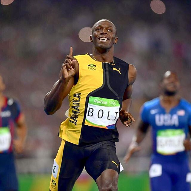 🏅🏅🏅Needless to say, this is the biggest star we have ever seen in Olympic history. Charismatic, talented and entertaining... The full package.  #rio2016 #olympics2016 #olympic #100m #men #athlete #bolt #usainbolt #legend #star #brasil #brazil #olympics #athletics #riodejaneiro #rio