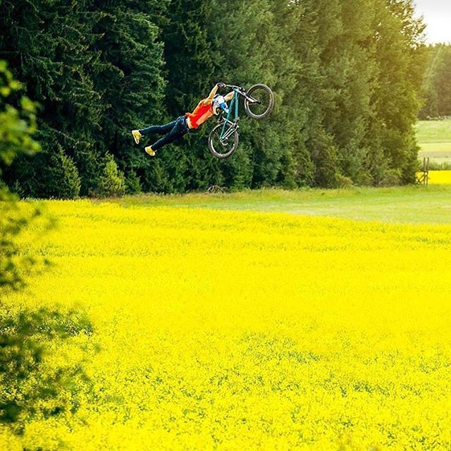 A holy union between two of the most stylish riders in MTB and BMX has created Field Tripping, an edit that will leave you wondering exactly what you just saw. @martinsoederstroem and @dawidgodziek masterpiece. #bmx #bmxlife #bmxstreet #mountainbike #mountainbikes #redbull #mtb #stylish #style #fieldtrippin #sweden #swedish #tailwhip #twister #extreme #sports #xtreme #bigair #kicker #uppsala