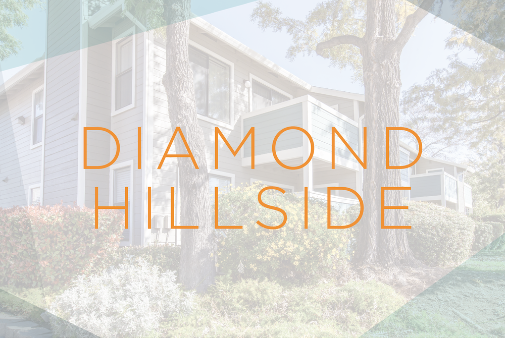Modern Gem Design :: Diamond Hillside