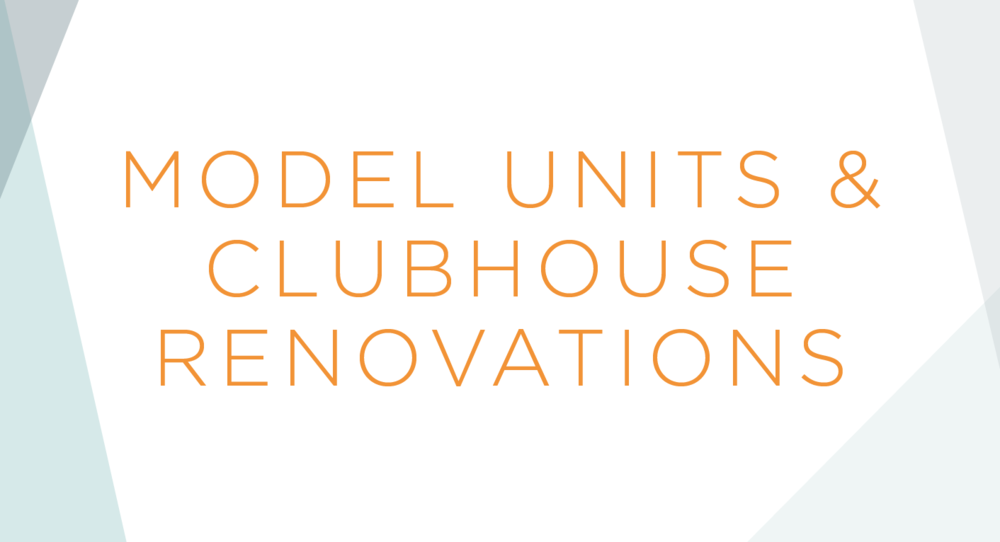 Modern Gem Design :: Models & Clubhouse Renovations