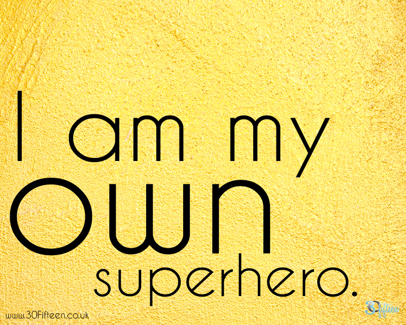 30fifteen my own superhero