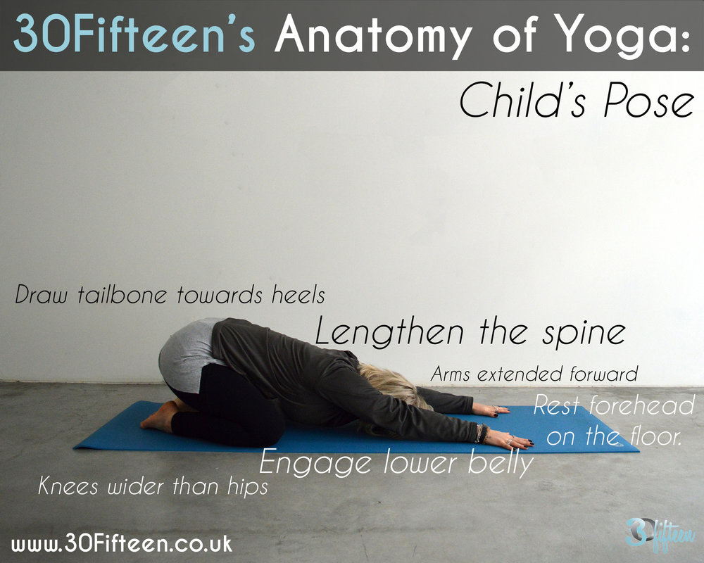 ANATOMY OF YOGA: CHILD\'S POSE — THE BLOG
