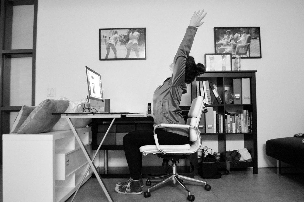 30Fifteen office yoga
