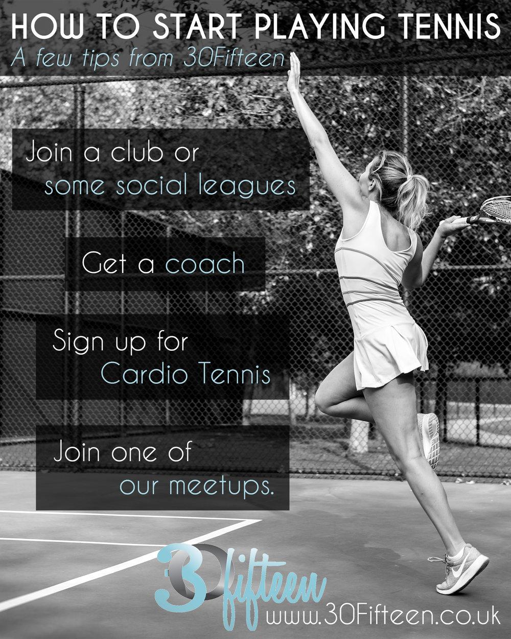 30fifteen how to start playing tennis
