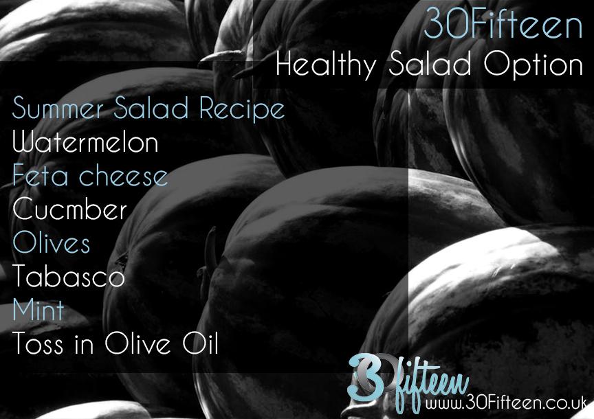 30Fifteen healthy salad recipe