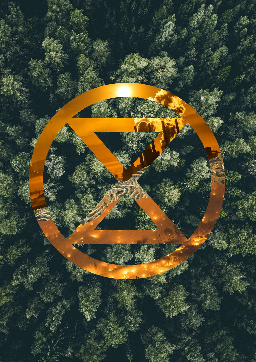 Extinction Symbol - Land (2019) .Jpeg