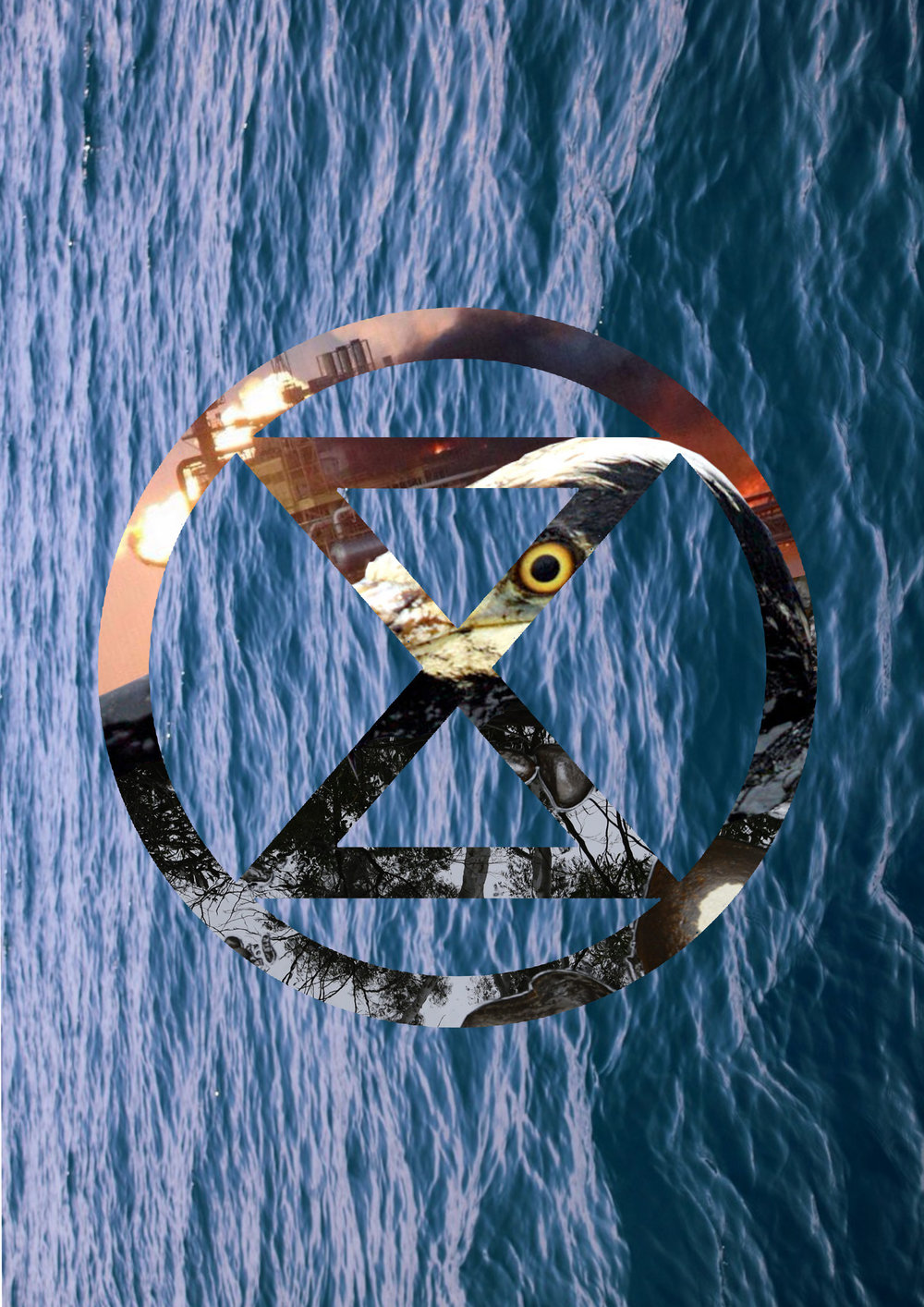 Extinction Symbol - Sea (2019) .Jpeg