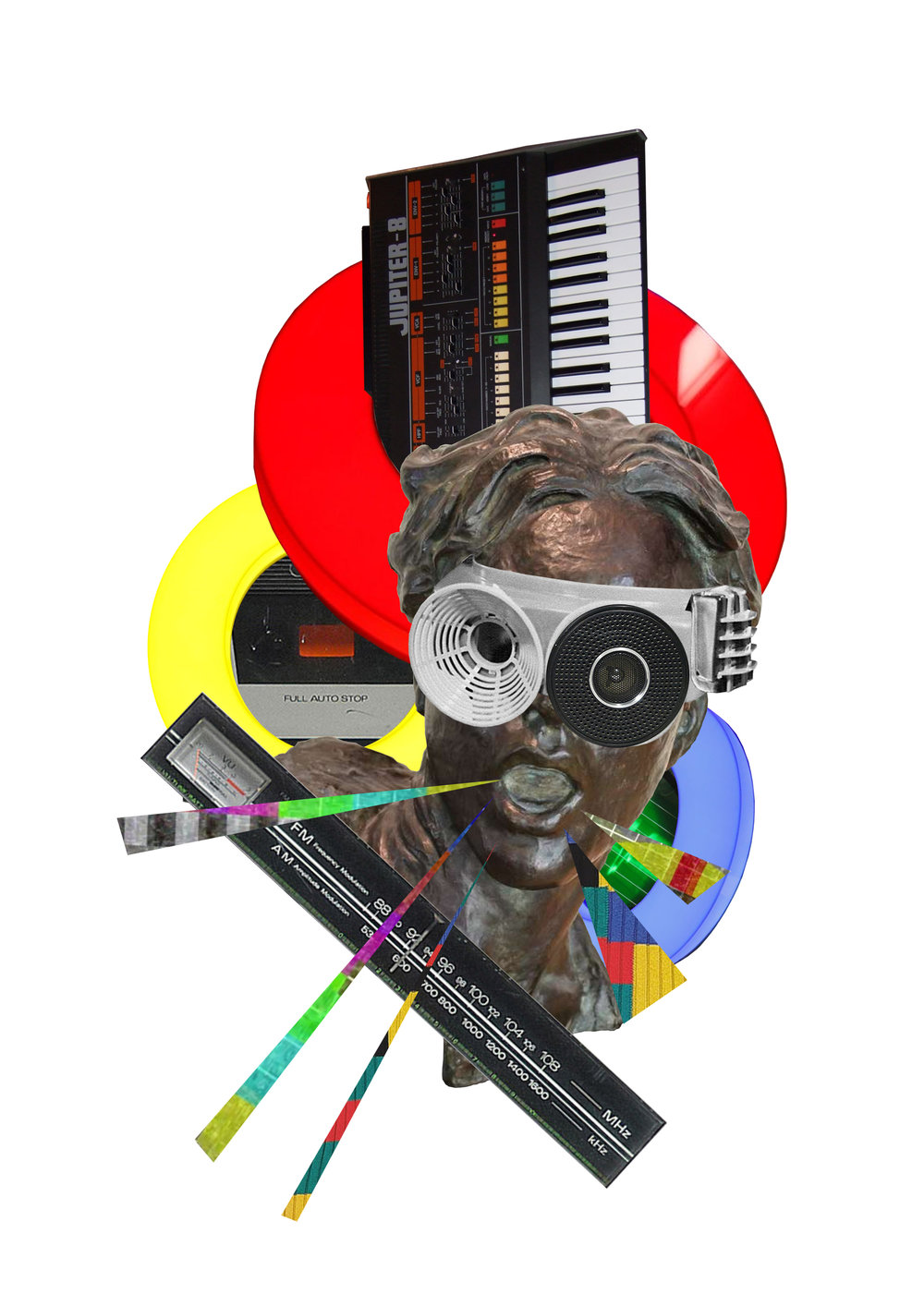 Set Synthesizers To Stun (2019) - Digital Collage - Anthony D Kelly.jpeg