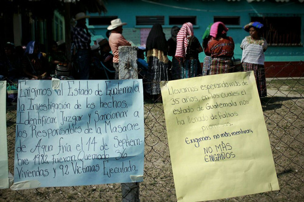 Delegación de Corte IDH visita comunidades en Rabinal.