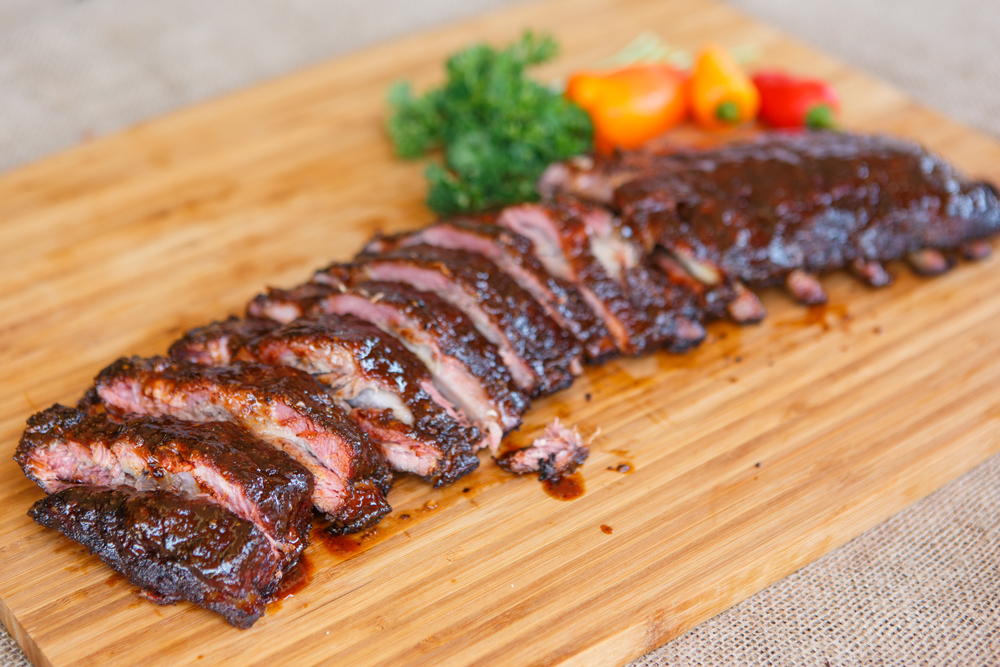 Smokey Sweet Spare Ribs