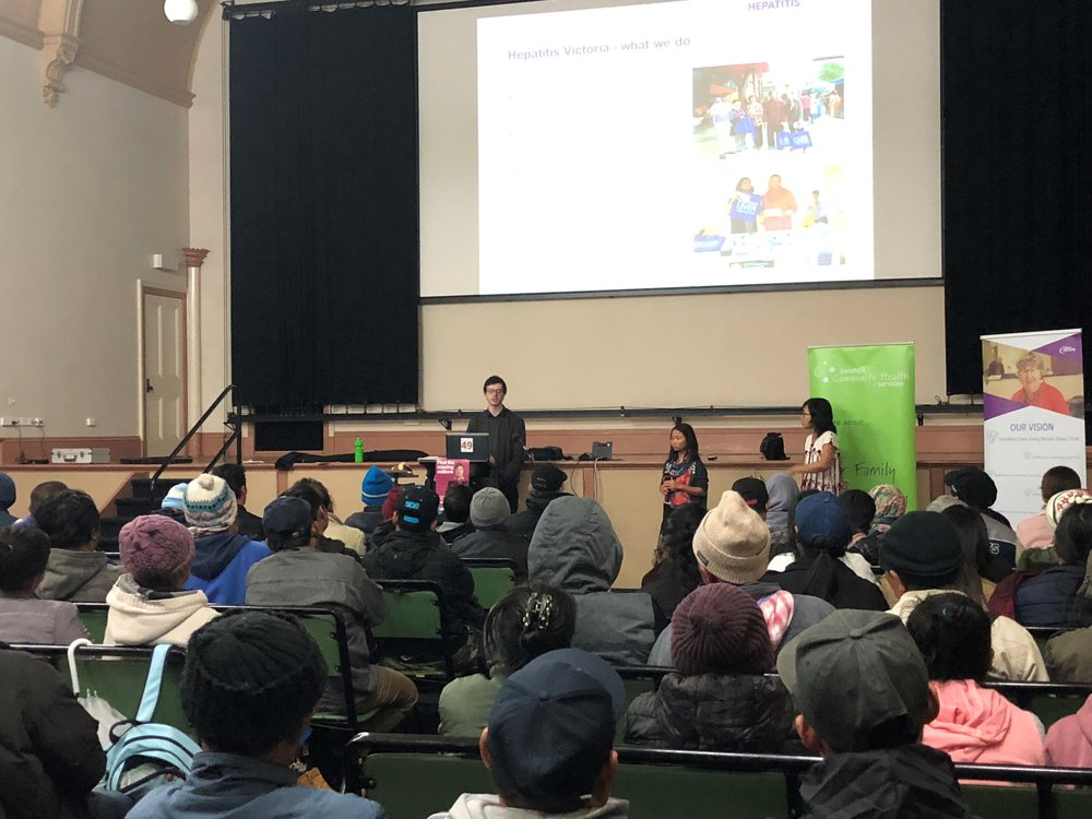 Hepatitis Victoria informing Chinese Community