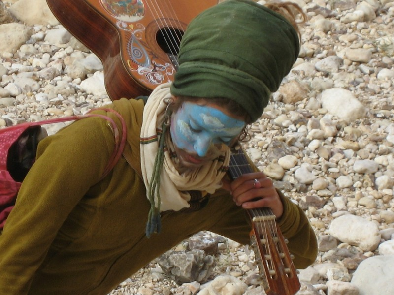 Israel Rainbow 2012 Painted Face.JPG