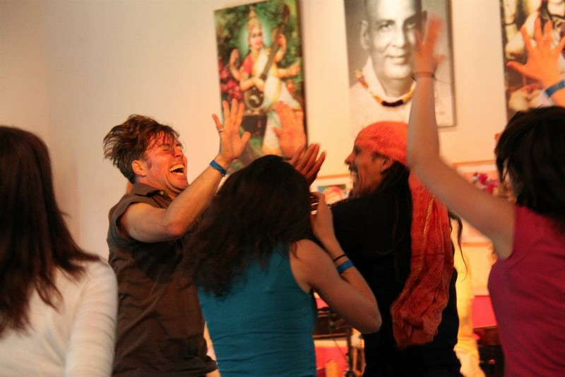 Feel the Celebration at Yoga Vidya 2012.jpg