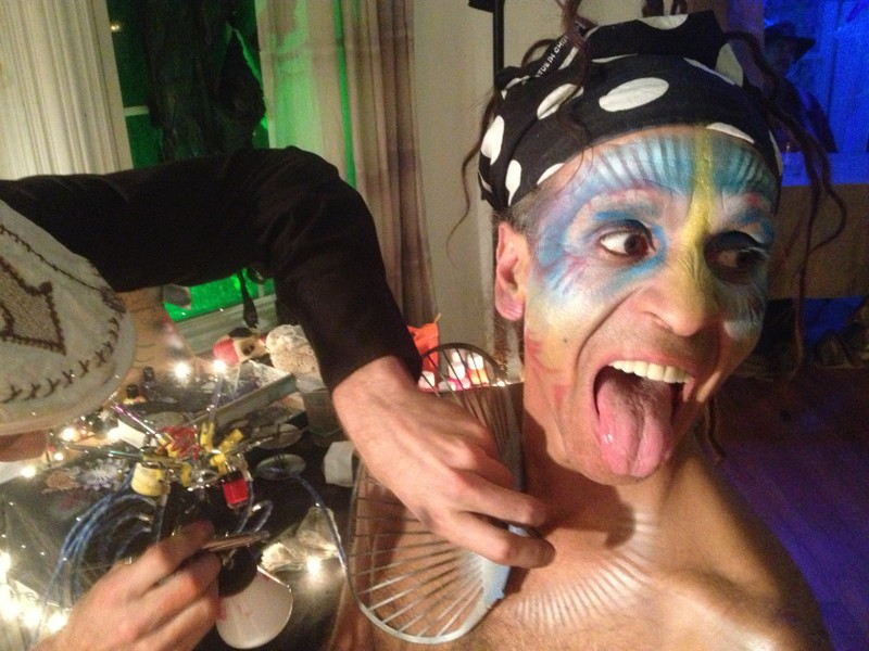 Fantuzzi face paint at COSM 2012 (2).JPG