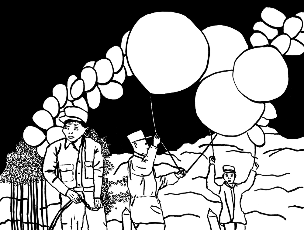 """Balloon Men"""