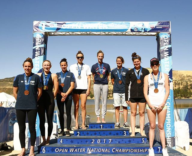 2017 Open Water Nationals 10K top 8.  #ownats  #openwaterswimmig #swimming @usaswimming  @swimmingworldmag  @tyrsport  @arenausa  @arenawaterinstinct