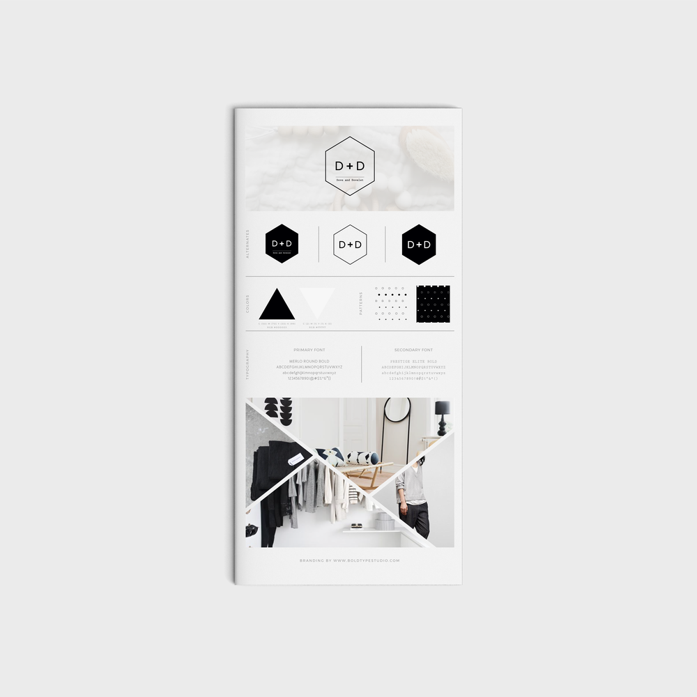 Dove and Dovelet ´s brand style guide by  Bold Type Studio