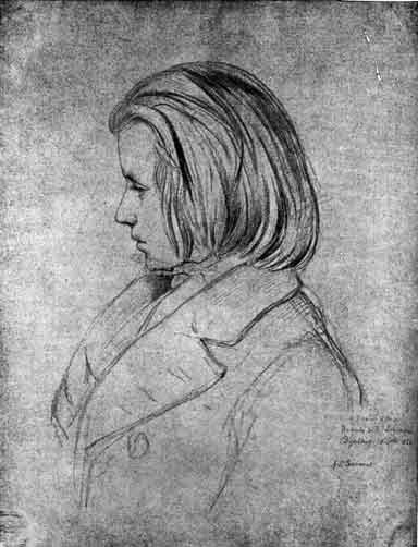 The Genesis of Minerva: Schumann and the Young Brahms Image: drawing of the young Brahms, aged 20