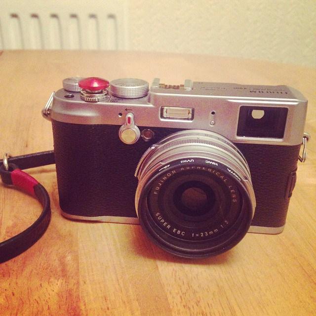 My original Fujifilm X100.