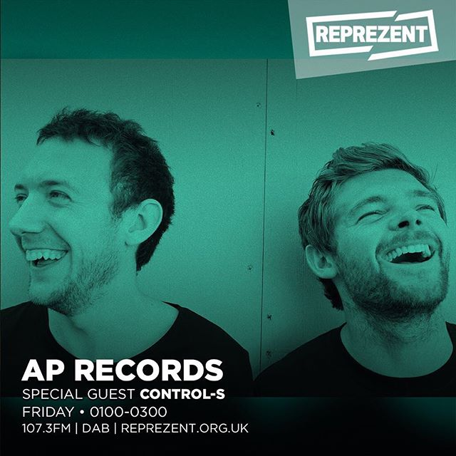 📻 Catch us tonight on @reprezentradio 1-3am with @arrowproductionrecords for a guest mix and a chat, plus we raided the vinyl catalogue for a trip through some of our favourite old school tracks...