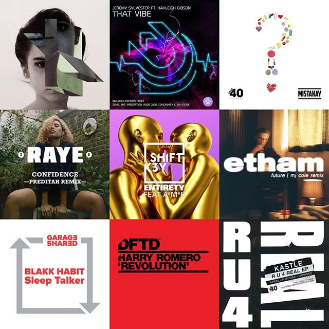 New music added to our @spotify playlist! Link in bio ➡️🎧 • Fresh beats from @kastle @shiftk3y @ethammusic @mjcole @harryromeroofficial @blakkhabitmusic @inawroldsenofficial @jeremysylvester2 @rudejudeforeal @mistakayuk @raye @preditah and more...