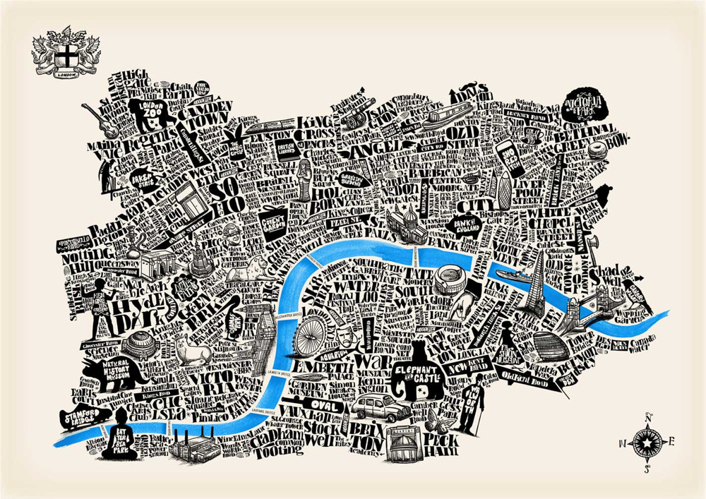 Image Via Mapping London