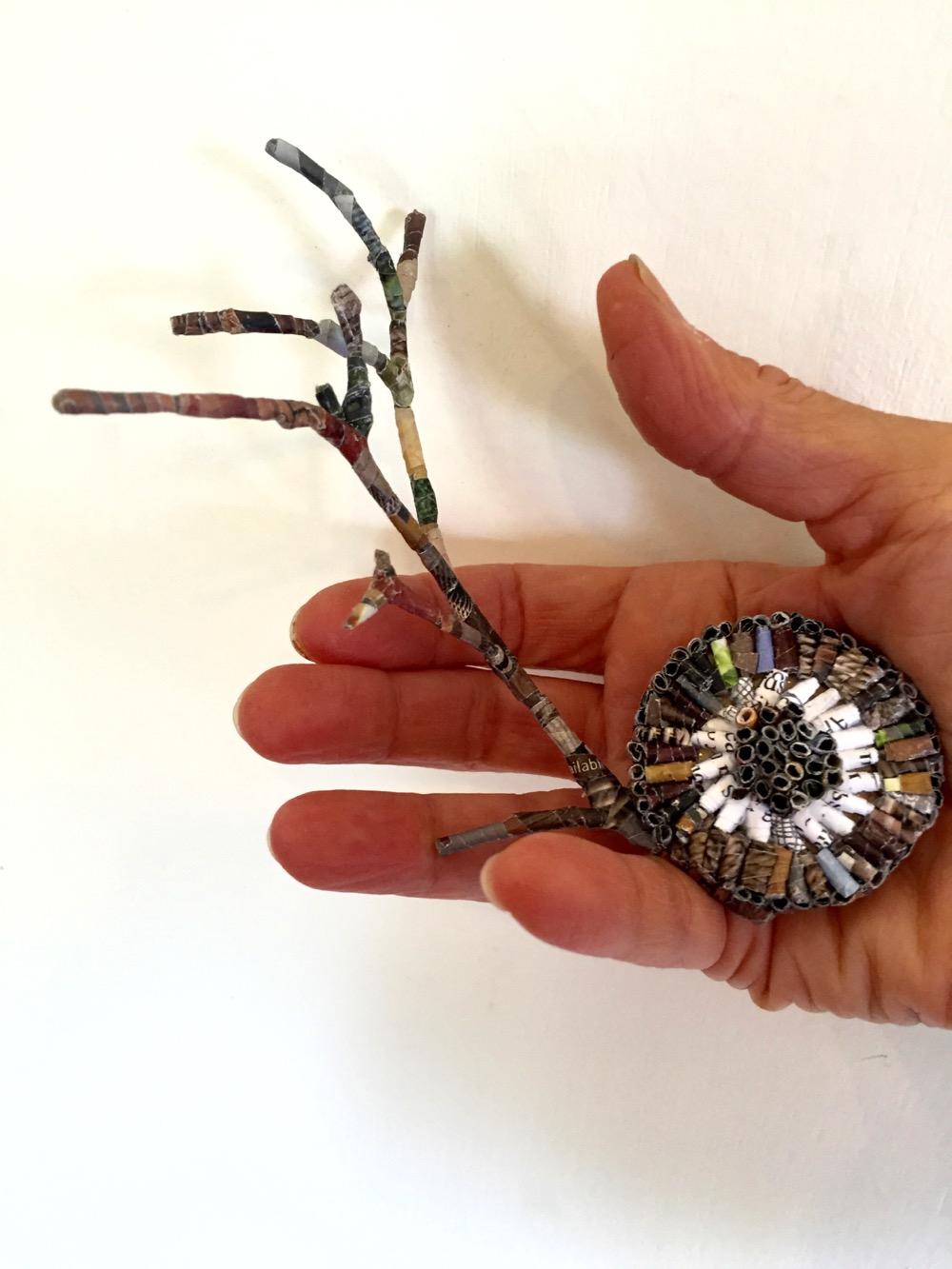 Jaynie Crimmins_paper sculpture branches