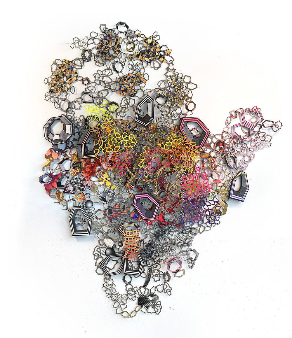 Nancy Baker_mixed media paper art