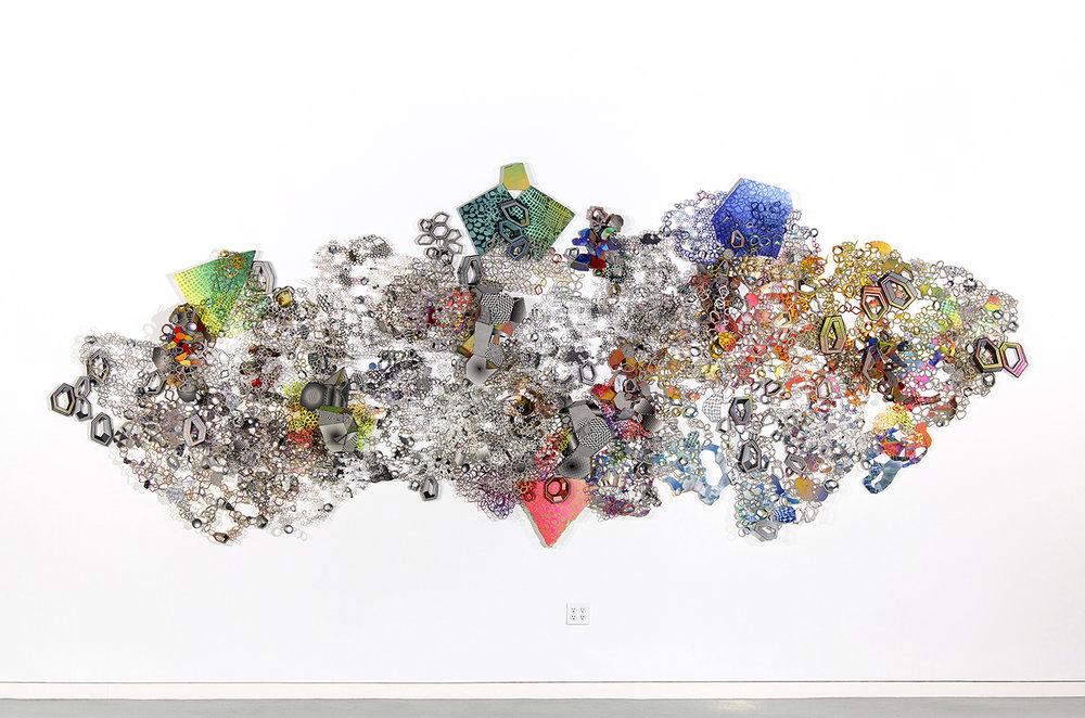Nancy Baker_mixed media large installation art