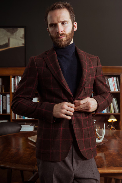 Thomson blazer, Annet turtleneck, Thomson trousers