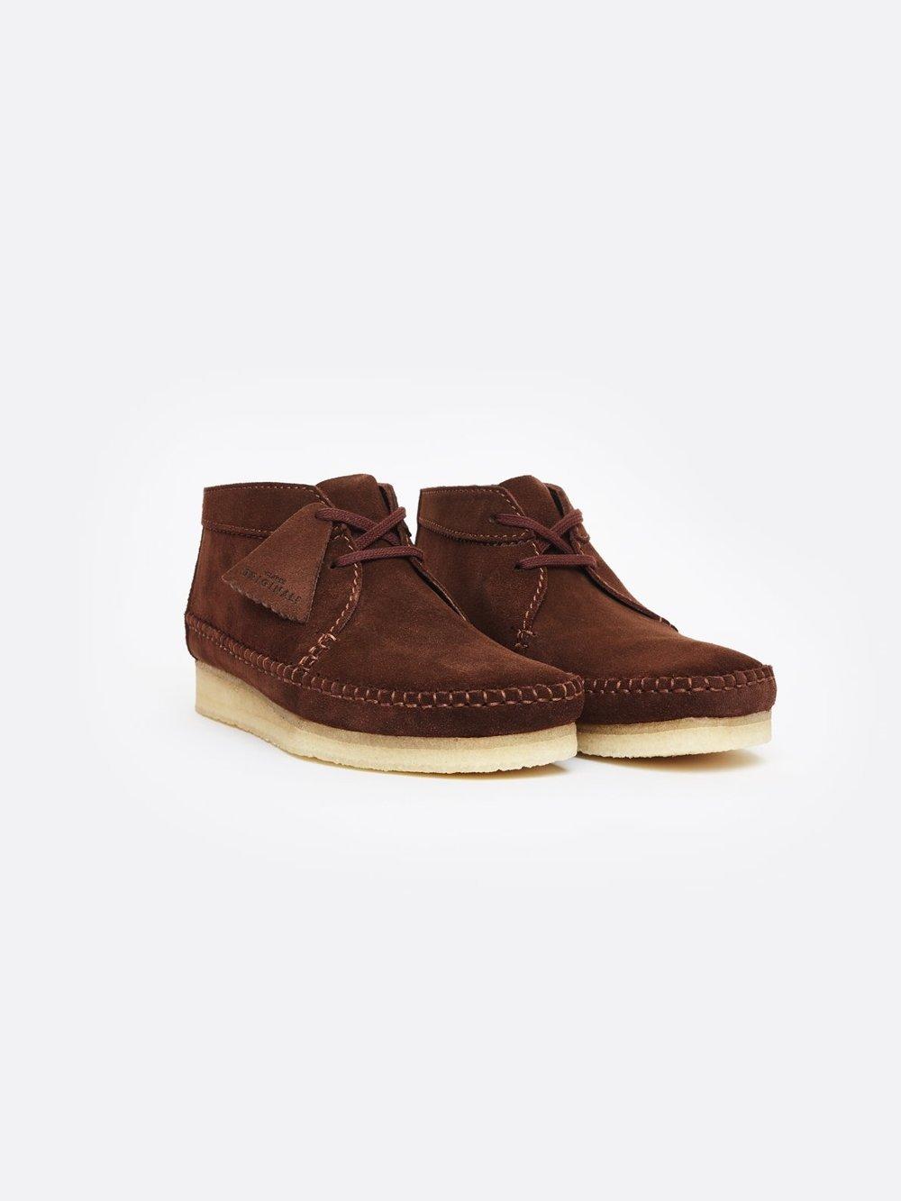 Clarks weaver boots