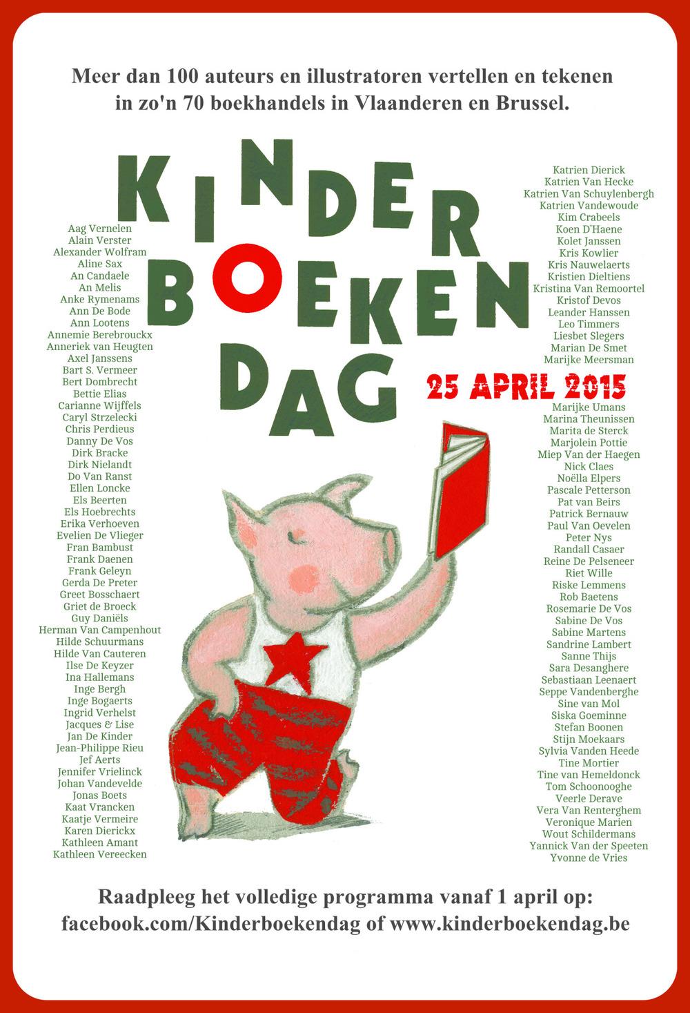 KINDERBOEKENDAG   In het kader van de Kinderboekendag zal ik om 10 uur voorlezen én tekenen in Passa Porta Bookshop,A. Dansaertstraat 46  1000 BXL.  Iedereen is welkom!