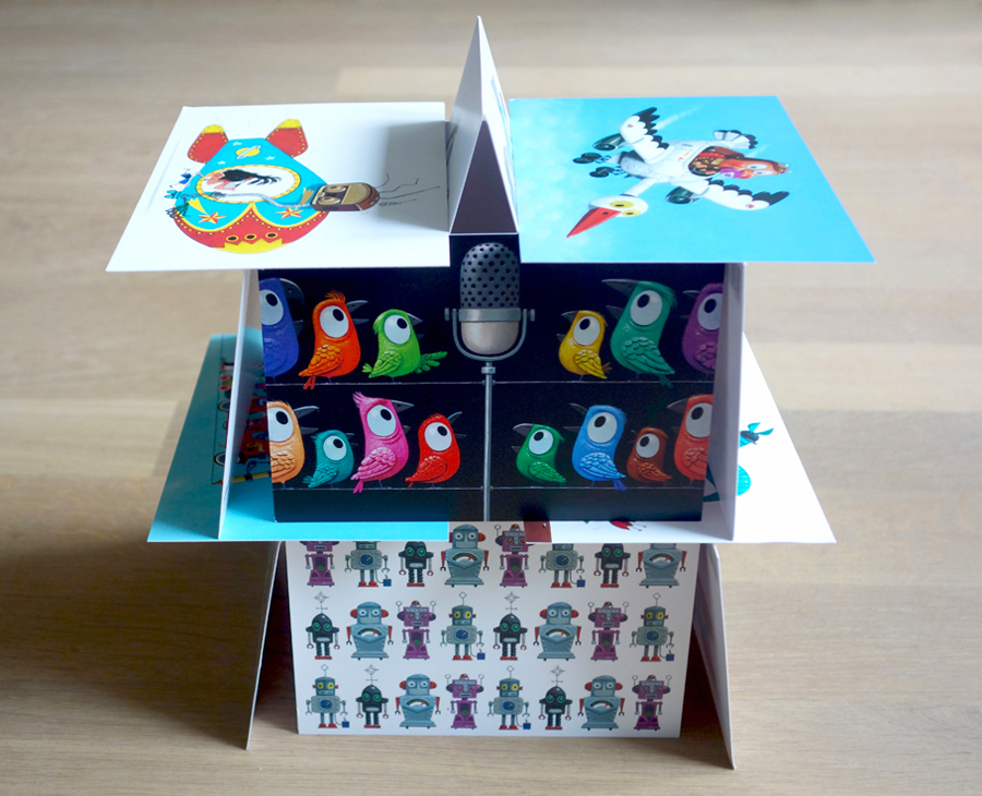 HOUSE OF (POST)CARDS    Cara Sina produced a collection of 20 postcards with my illustrations! They are available in the SHOP section on this site. Please check for more details.