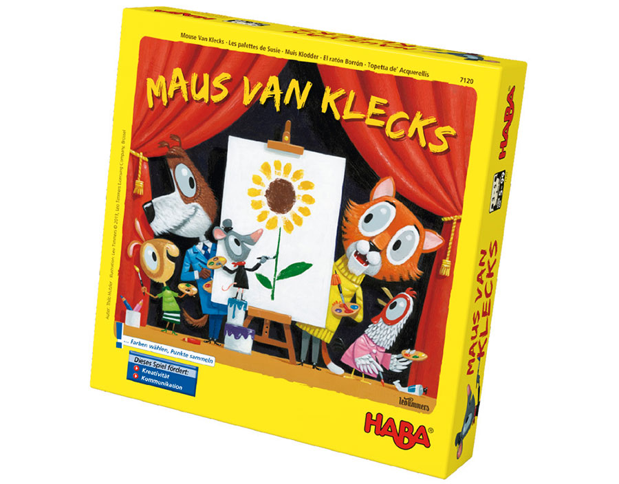 HABA    I made the box and game illustrations for this really fun and creative game.