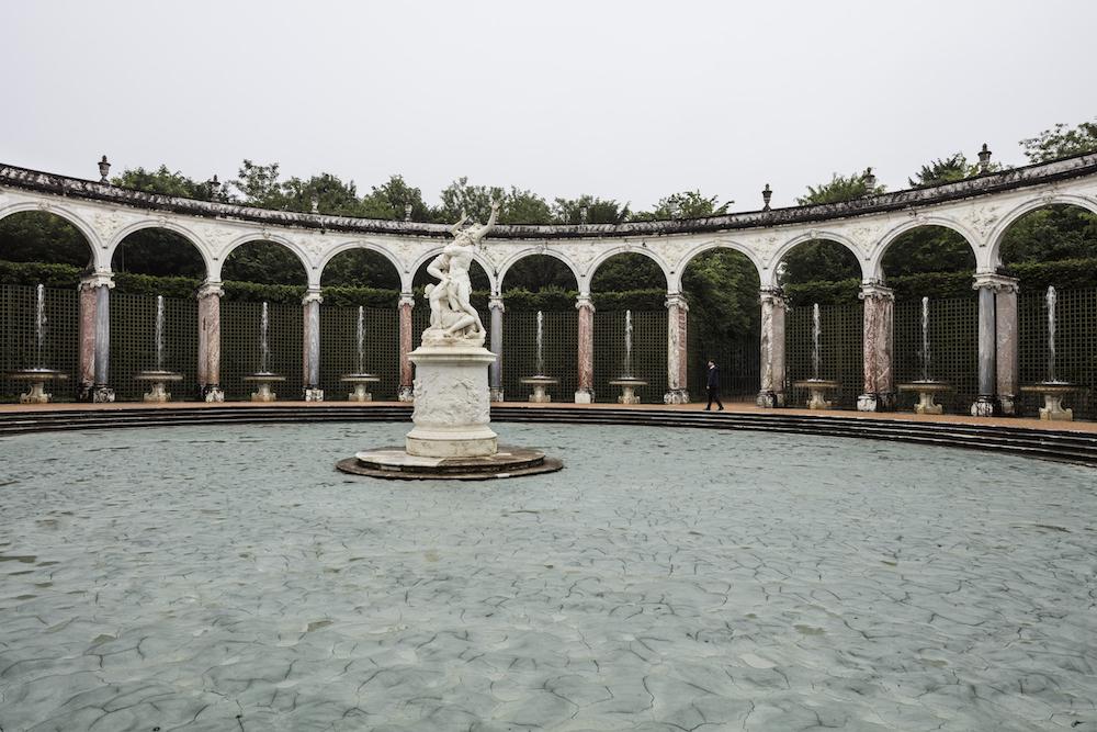 Fotoğraf: Anders Sune Berg Glacial rock flour garden, Palace of Versailles.