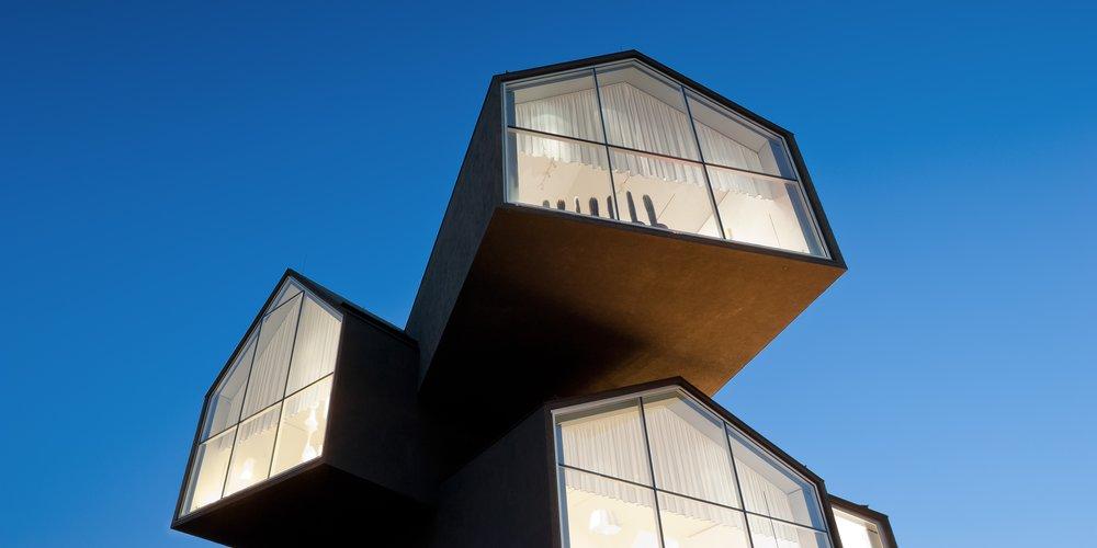 Herzog&de Meuron tasarımı VitraHaus