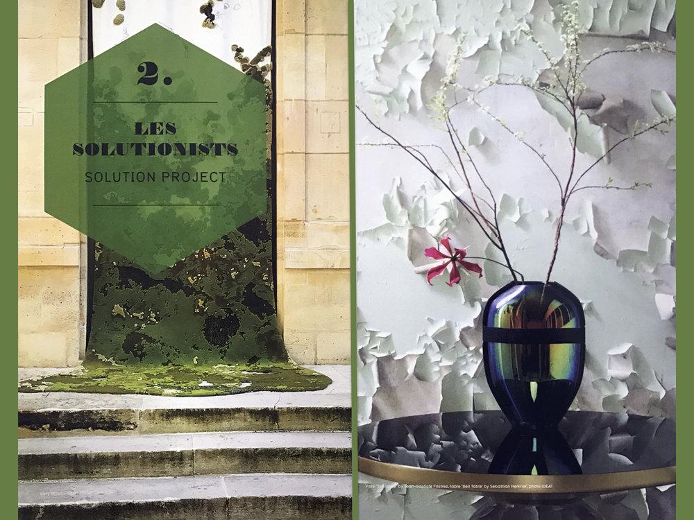 Hotel de Livry, Vase Scarabée by Jean-Baptiste Fastrez photo by IDEAT