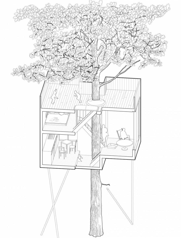 Treetop-Hotel_Denmark_lovtag_Architect-Sigurd-Larsen-axo-forest-Axonometry-cabin-1-550x722@2x.jpg