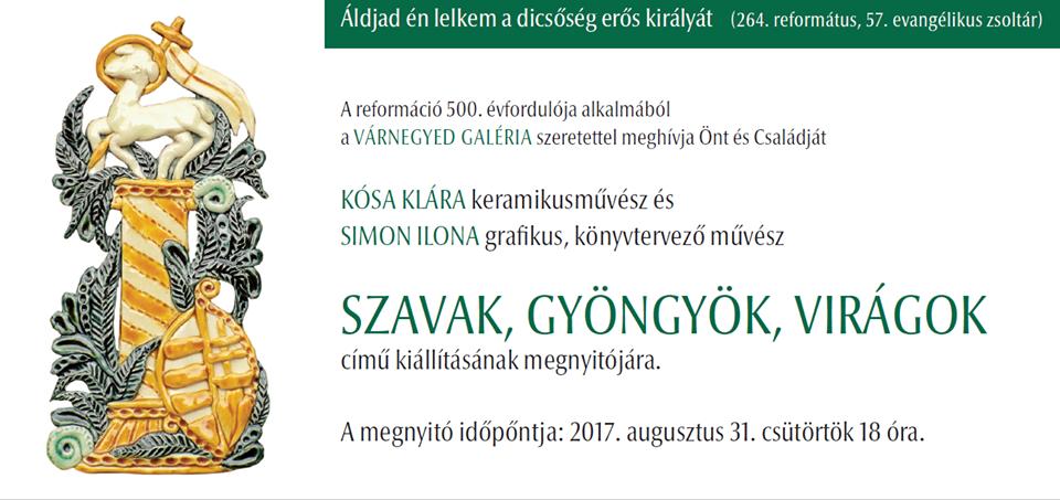 A szeptember végéig látható kiállítás megnyitóján Bence Imreeseperes mondott megnyitó beszédet. A szavait alábbiakbanolvashatják!