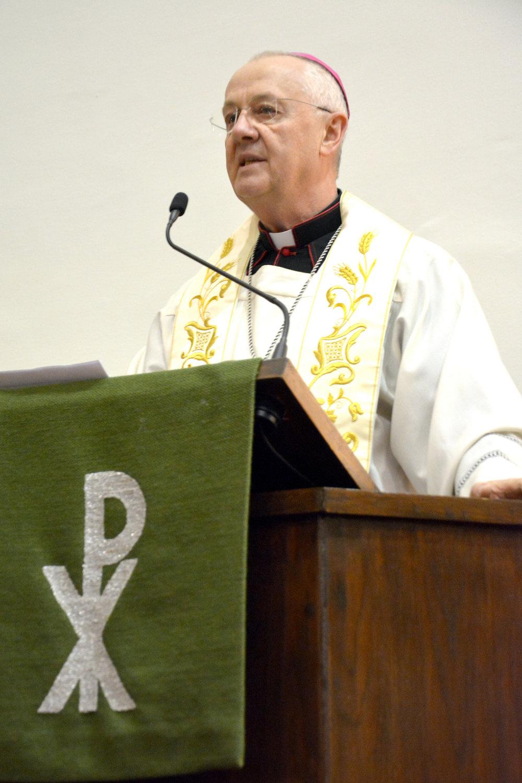 Ternyák Csaba egri érsek volt az igehirdető az ökumenikus imahét szerdáján a Budavári Evangélikus Egyházközségben.