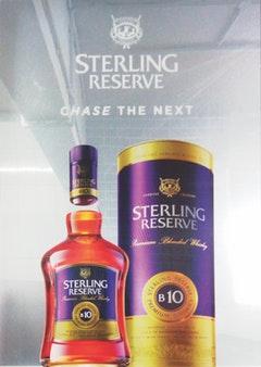 STERLING MIRROR POSTER   Spectrum Scan PVT Ltd, India    Shortlisted Sticker Download