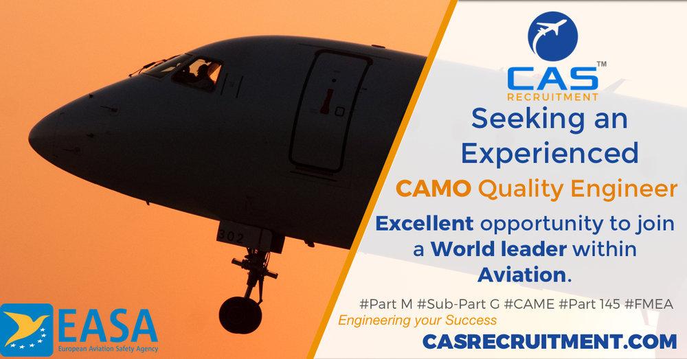 Quality Engineer CAMO