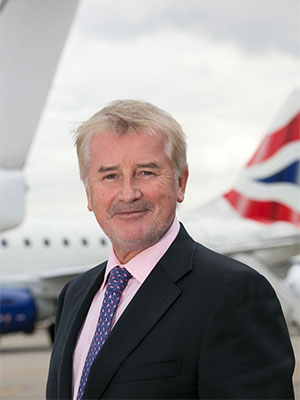 Declan Collier, CEO of London City Airport