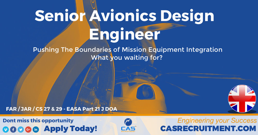 CAS Recruitment Senior Avionics Design Engineer Latest Aviation Jobs.jpg